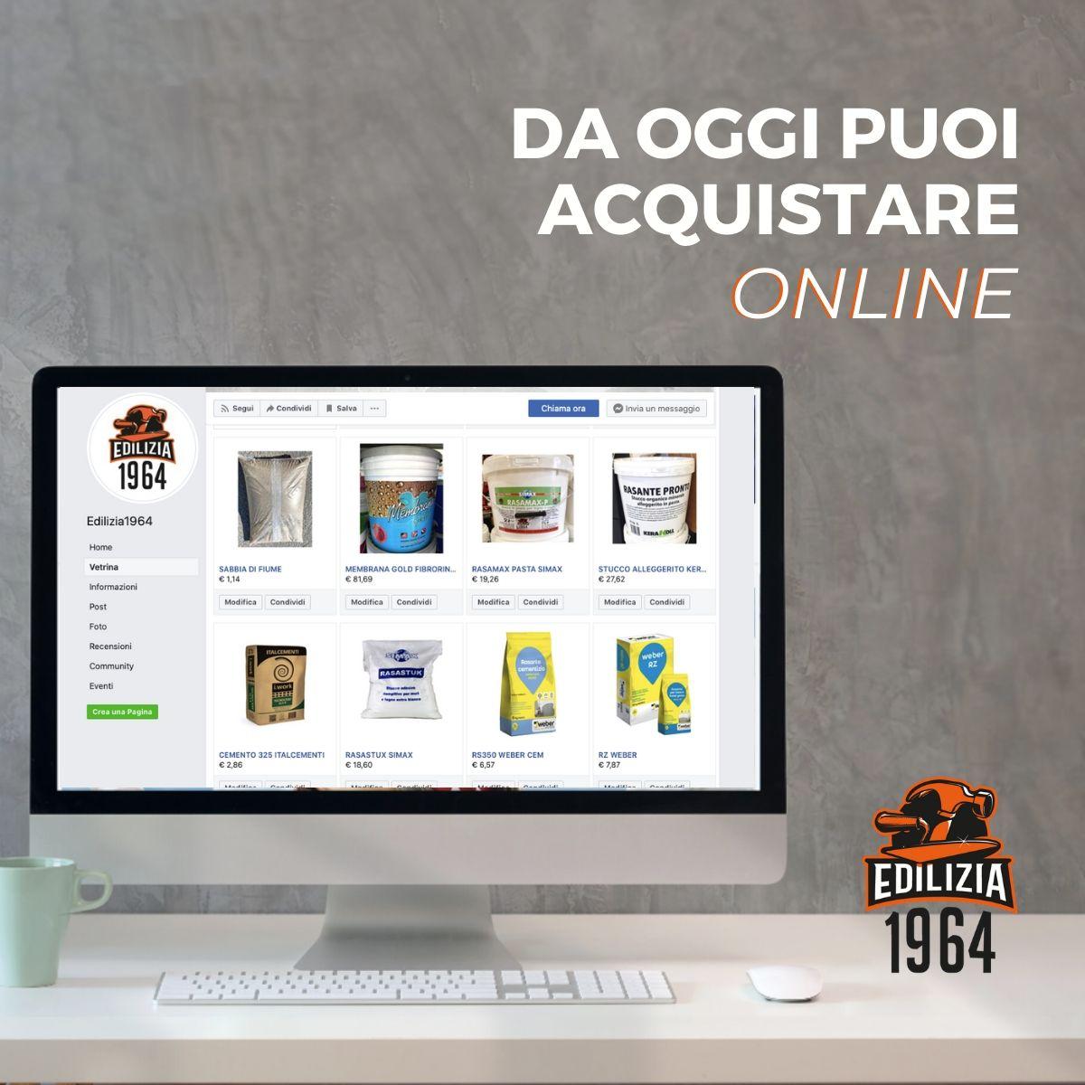 Da oggi puoi acquistare online